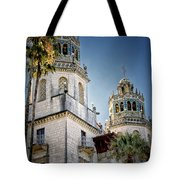 Towers At Hearst Castle - California Tote Bag