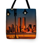 Towers Framed Tote Bag