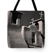 Towers In Sepia Tote Bag