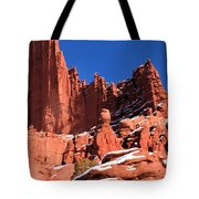 Towers In The Sky Tote Bag