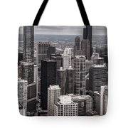 Towers Of Chicago Tote Bag
