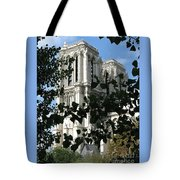 Towers Of Notre Dame Tote Bag