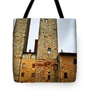Towers Of San Gimignano Tote Bag