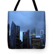 Towers Of Singapore Tote Bag