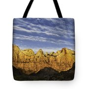 Towers Of The Virgin Tote Bag