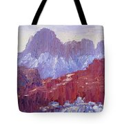 Towers Of The Virgin Valley Tote Bag