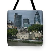 Towers Old And New Tote Bag