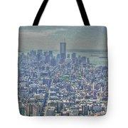 Towers To The Heavens Tote Bag