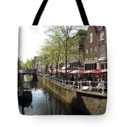 Town Canal - Delft Tote Bag