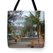 Town Center Of Parromos Tote Bag