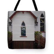Town Church Tote Bag
