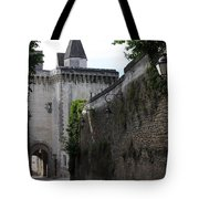 Town Gate - Loches - France Tote Bag