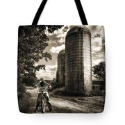 Town Line Tote Bag