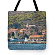 Town Of Kukljica On Ugljan Island Tote Bag