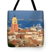 Town Of St Tropez Cote D'azur France Tote Bag