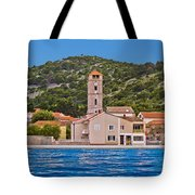 Town Of Tisno Waterfront Croatia Tote Bag