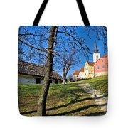 Town Of Varazdinske Toplice Center Park Tote Bag
