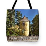 Town Of Vrbovec Historic Park Tower Tote Bag