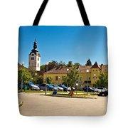 Town Of Vrbovec In Croatia Tote Bag