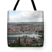 Town Of Wurzburg Tote Bag