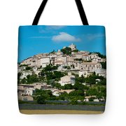 Town On A Hill, D51, Sault, Vaucluse Tote Bag