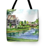 Towne Center Tote Bag