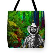 Toy Caldwell In The Woods Tote Bag