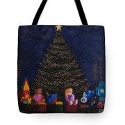 Christmas Toys Tote Bag