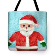Toy Santa Tote Bag