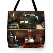 Toy Sewing Machines Tote Bag