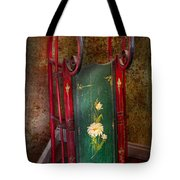 Toy - Sled - Fun Memories With My Sled  Tote Bag