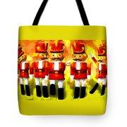 Toy Soldiers Nutcracker Tote Bag by Bob Orsillo