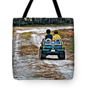 Toy Truck Riders Tote Bag