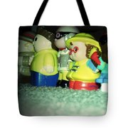 Toys In A Row Tote Bag