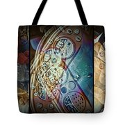 Toys Triptych Tote Bag