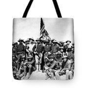 Tr And The Rough Riders Tote Bag by War Is Hell Store