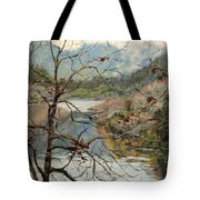 Traces Of Autumn Tote Bag