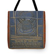 Traces Of The Past Busch Stadium Dsc01113 Tote Bag