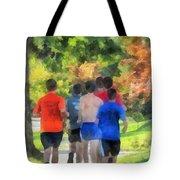 Track Practice Tote Bag by Susan Savad