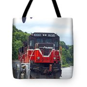 Track Star Tote Bag