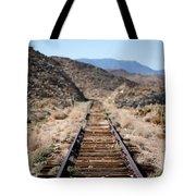 Tracks To Nowhere Tote Bag