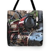 Traction Engine 2 Tote Bag