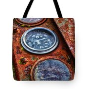 Tractor Gagued Tote Bag