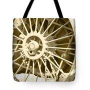 Tractor Wheel Tote Bag