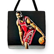 Tracy Mcgrady Portrait Tote Bag