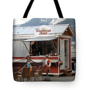 Tracys King Crab Shack Tote Bag