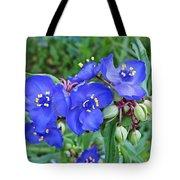 Tradescantia Blooming Tote Bag