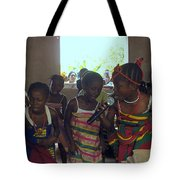 Traditional Dance And Singing Tote Bag