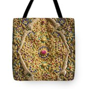 Traditional Embroidery In Jerusalem Israel Tote Bag