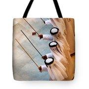 Traditional Emirati Men's Dance  Tote Bag